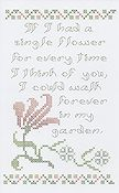 Rosewood Manor - Greeting Card Single Flower