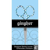 "Gingher Designer Series - Lauren 4"" Embroidery Scissors"
