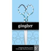 "Gingher Designer Series - Lauren 5"" Knife Edge Scissors THUMBNAIL"