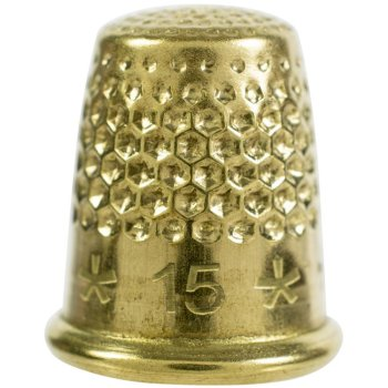 Lacis Dome Top Gold Thimble MAIN