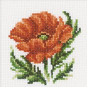 RTO Cross Stitch Kit - Poppy