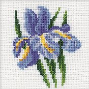 RTO Cross Stitch Kit - Iris