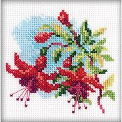 RTO Cross Stitch Kit - Fuchsia