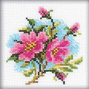 Rto Cross Stitch Kit Dog Rose Stoney Creek Online Store