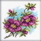 RTO Cross Stitch Kit - Hellebore