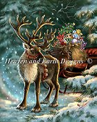 Heaven and Earth Designs - The Enchanted Christmas Reindeer THUMBNAIL