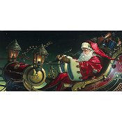 Heaven and Earth Designs - Father Xmas Sleigh Ride