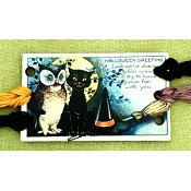 Vintage Postcard Series #9 - Halloween Greetings Threadkeep THUMBNAIL