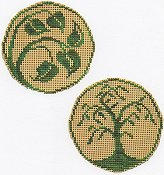 Handblessings - Circle Ornaments - Elegant Summer