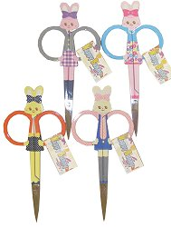 "Happy Bunny Scissors - 4"" (Assorted Colors) - Sold Out"