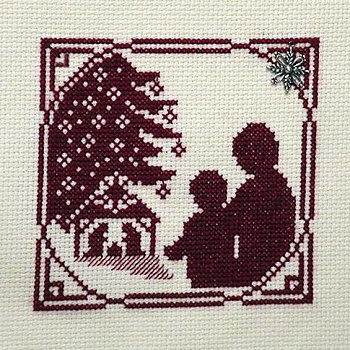 Handblessings - Christmas Memories Silhouette - Sharing the Christmas Story MAIN