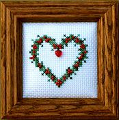 The Stitchworks - Heart and Beads Kit