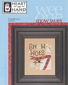 Heart In Hand Needleart - Wee One - Snow Woes