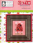Heart In Hand Needleart - Curio Ladybird THUMBNAIL