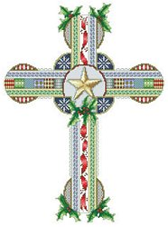 Vickery Collection - Celtic Christmas Cross THUMBNAIL