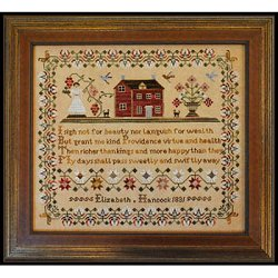 Little House Needleworks - The Elizabeth Hancock Sampler