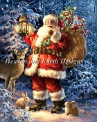 Heaven and Earth Designs - Woodland Santa