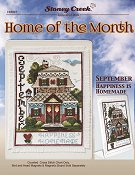 "Home of the Month - September ""Happiness is Homemade"" THUMBNAIL"