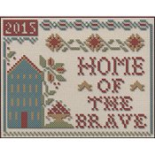 Little House Needleworks - Home of the Brave Chart Pack