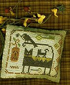 Homespun Elegance - A Halloween Year - June - Spooky Feline & Friends