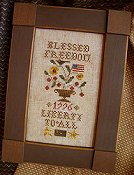 Homespun Elegance - Plain & Fancy Collection - Blessed Freedom