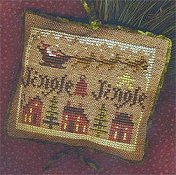 "Homespun Elegance - 2011 Sampler Ornament ""Jingle Jingle"""