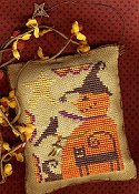 Homespun Elegance - A Halloween Year - May - Oh To Be A Witch