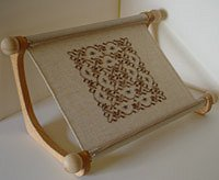 Doodlin' Around Design - The Lap Stitch Doodler Frame MAIN