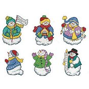 Imaginating - Joyous Snowman Ornaments 2755 THUMBNAIL