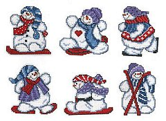 Imaginating - Winter Sports Snowmen