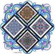 Ink Circles - Four Seasonal Mandalas THUMBNAIL