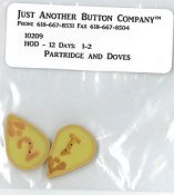 Jabco Button Pack - Hands On Design - 12 Days - Partridge & Dove THUMBNAIL