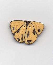 Jabco Button - Yellow Butterfly Button MAIN
