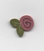 Jabco Button - 2307 Mauve Swirly Bud