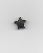 Jabco Button - 3388.S Small Black Star Button THUMBNAIL
