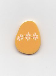 Jabco Button - 4496 Yellow Easter Egg MAIN