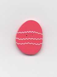Jabco Button - 4497 Coral Easter Egg MAIN