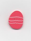 Jabco Button - 4497 Coral Easter Egg