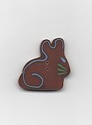 Jabco Button - 4550 Chocolate Bunny_THUMBNAIL