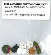 Jabco Button Pack - Shepherd's Bush - Home For The Holidays THUMBNAIL