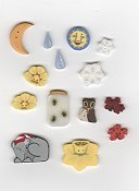 Jabco Button Pack - Glitter Gulch Needleworks - A Stitcher's Four Seasons