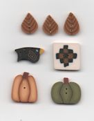 Jabco Button Pack - Faithwurks Designs - Fall Blocks THUMBNAIL