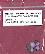 Jabco Button Pack - CherryWood Design Studios - If The Pumpkin Fits