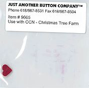 Jabco Button Pack - Country Cottage Needleworks - Santa's Village - Christmas Tree Farm THUMBNAIL
