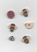 Jabco Button Pack - Shepherd's Bush - Be Attitude Sampler THUMBNAIL