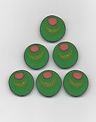 Jabco Button Pack - Amy Bruecken Designs - Martini (Large)
