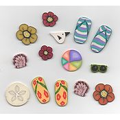 Jabco Button Pack - Glendon Place - Beach Bound One