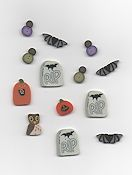 Jabco Button Pack - Praiseworthy Stitches - Widow Black's B & B