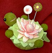 Just Another Button Company - Lazy Turtle Pincushion