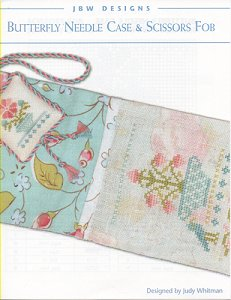 JBW Designs - Butterfly Needle Case & Scissors Fob MAIN